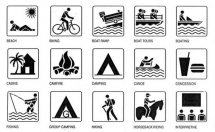 Florida State Parks - Icons