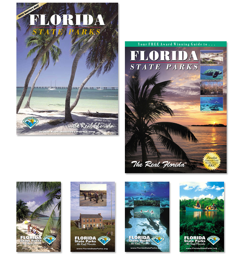 Florida State Parks system - marketing materials, logo re-design and presintations